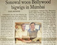 sonowal woos bollywood bigwigs in mumbai